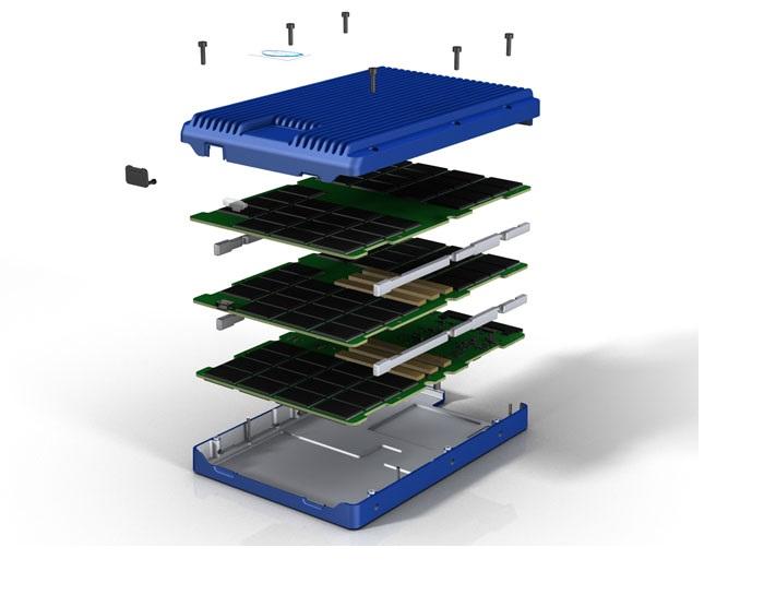 Yszerviz - SSD belseje